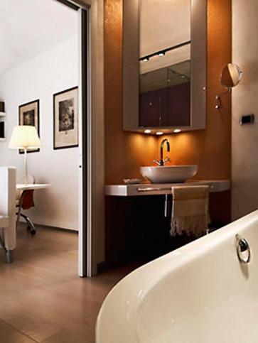 Camera da bagno.