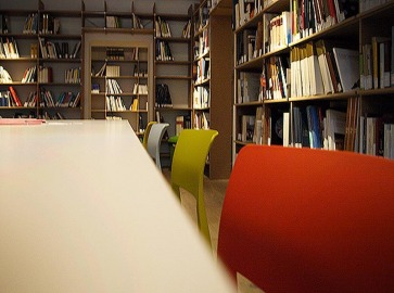 Librerie a misura a parete.