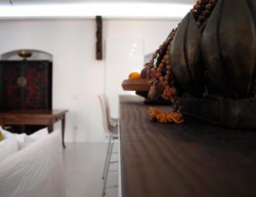 Piano Snack cucina in legno.