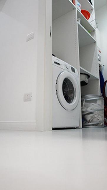 Arredare lavanderia.
