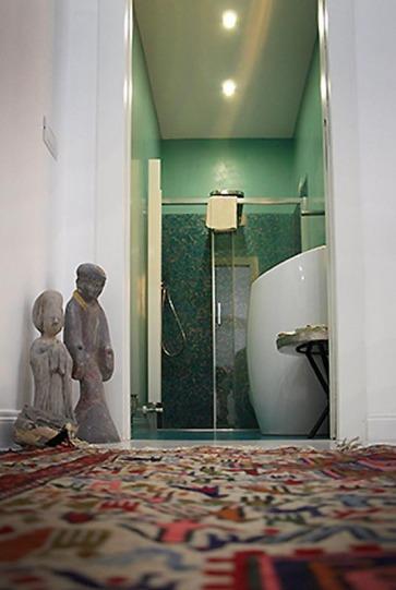 Arredare camera bagno.