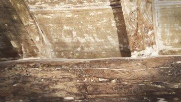 Soffitto in legno ristrutturazione.