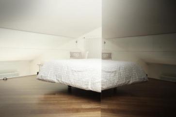 Biancheria per letto.