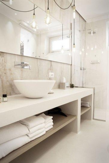 Arredamento bagno moderno.