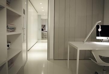 Home office. Armadio Laccato.