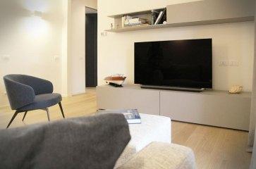 Zona TV HI-FI con mobile Lema Mobili.