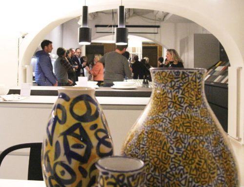 BARNILS I vasi dell'artista spagnolo nello showroom