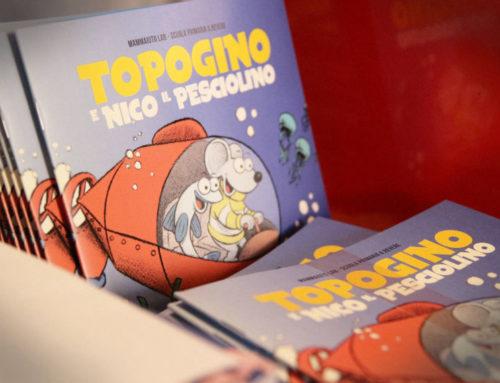 TOPOGINO Il fumetto creato per le scuole e l'inclusione per l'associazione Insieme